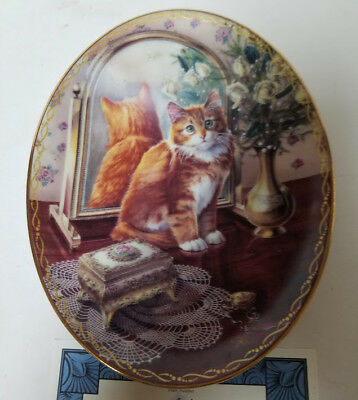 Collector Plate Coa Bradford Exchange Pretty As A Picture Classic Elegance