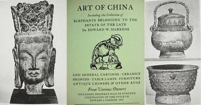 China__Antiques__Markens__Collection__Catalog__ __Bronzes__Furniture Illustrated