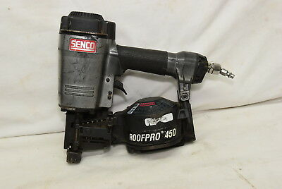 """Senco Roof Pro 450 Pneumatic Coil Roofing Nailer 3/4""""- 1-3/4"""""""