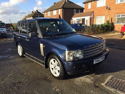 2002 Land Rover Range Rover Vogue V8 Auto Blue