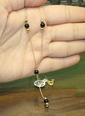 Ladies 14k Yellow Gold Necklace-11/18