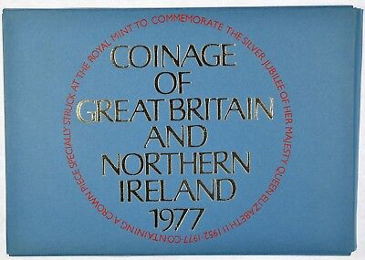 1977 Coinage of Great Britain and Northern Ireland Proof Set (b454.11)