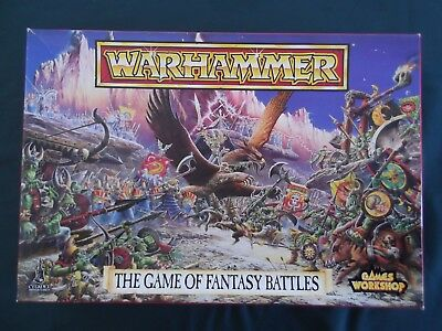 Games Workshop  Warhammer  The Game Of Fantasy Battles.