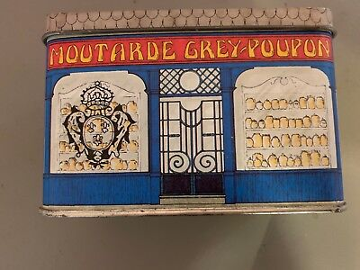 Moutarde Grey-Poupon Made in England by Avon Tin