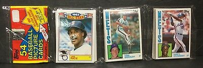 1984 Topps Baseball Unopened Rack Pack - Darryl Strawberry Rookie Card LAST ONE!