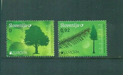 Slovenia 2011 Europa Tree set  MNH