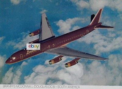 Braniff International Something New In The Air Brochure 747-727-Concorde-Dc-8