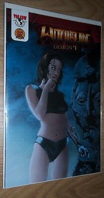 Witchblade The Demon #1 DF Dynamic Forces Cover B COA Top cow comic