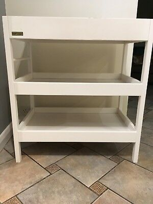 East Coast White Wooden Baby / Toddler Changing table with shelves for storage