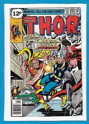 "Mighty Thor #280_February 1979_Near Mint Minus_""hyperion""_Bronze Age Marvel_Uk!"