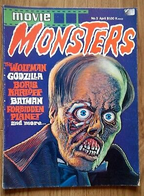 Movie MONSTERS Magazine #3  1975  seaboard Periodicals