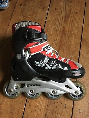 In-Line Roller Skates, Adjustable Size from Youth 1-4,