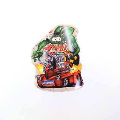 Rat Fink Ed Roth Vinyl Decal Big Daddy Wall Bicycle Laptop Hot Rods Car Stickers