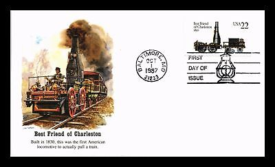 Dr Jim Stamps Us Best Friend Of Charleston Historic Locomotives First Day Cover