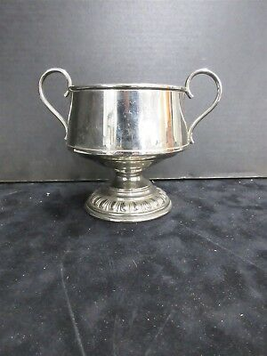 Silver-Plate Lagerstedt Swedish Double Handled Cup