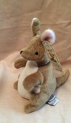 Gund - Kanga From The Classic Pooh Collection - Bean Filled