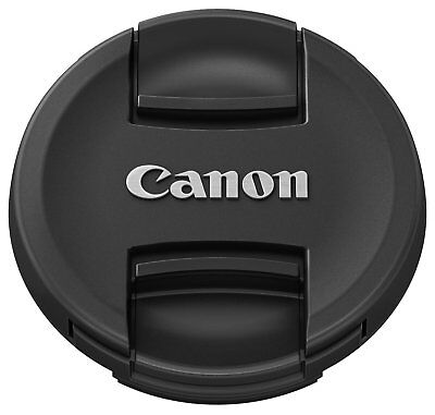 Canon 5673B001AA E-58II Lens Cap for 58mm Thread - Black