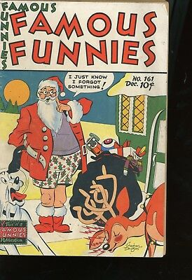 Famous Funnies 161 from 1947 Very Good