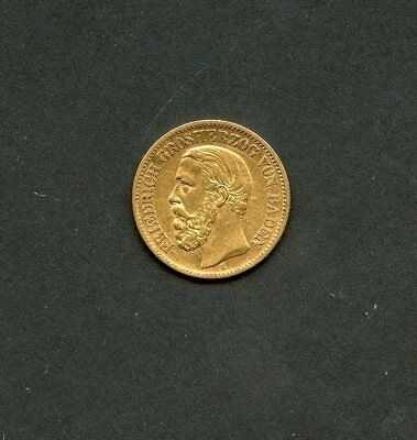 Germany 1873G Baden  10 Mark  Gold Coin  You Do The Grading
