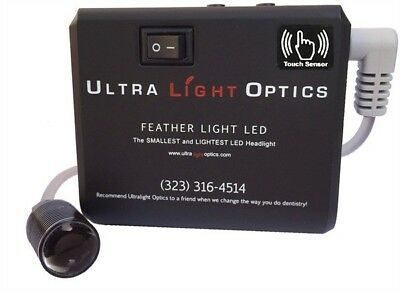UltraLight Optics Feather Light LED (loupes light) with touch control sensor