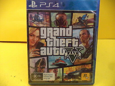 Grand Theft Auto V Sony Ps4 Game