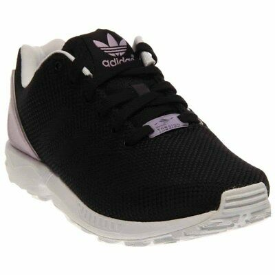 timeless design 77a19 0a15c adidas ZX Flux Weave Running Shoes - Black - Womens