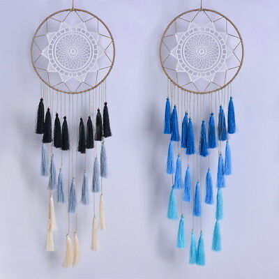 1pc Gift Bag+Creative Tassel Dream Catcher Handmade Dream Catcher Home Pendant