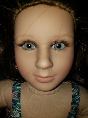"My Twinn Posable 23"" Collectible Doll  2003 Blond Hair - Blue eyes"