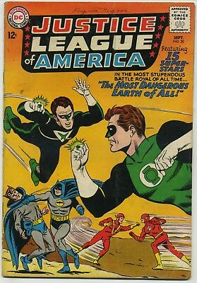 Justlice League of America 30 JSA Crossover!