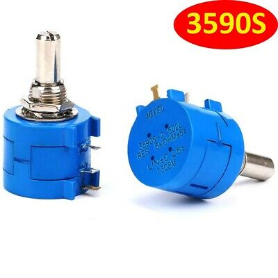 3590S-2 500Ω-50KΩ/Ohm Adjustable Precision Multi-Turn Potentiometer/Resistor