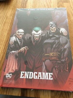 dc comics legend of batman - endgame brand new sealed