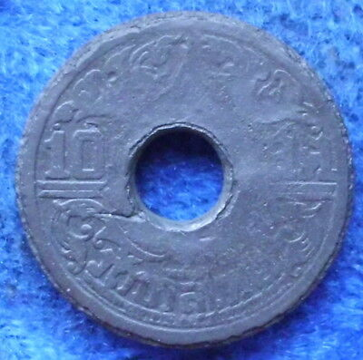 THAILAND - 10 satang BE248? (194?) Y# 62 Rama VIII (1939-1946) - Edelweiss Coins