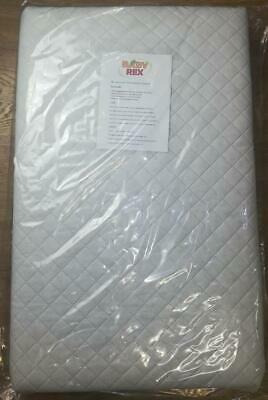 NEW TUTTI Bambini CoZee Bedside Crib Quilted Mattress  FULLY BREATHABLE /