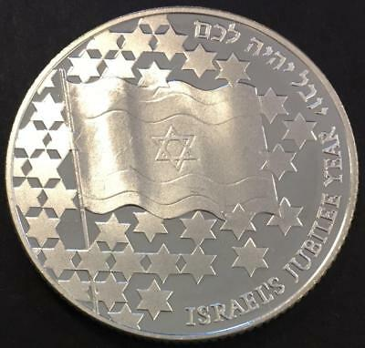 2 Sheqalim Proof Israël 1998 'Jubileums year' Silver coin