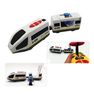Thomas Wooden Track Electric RC Train Toy Engine Railway Train Toys Kids Gift