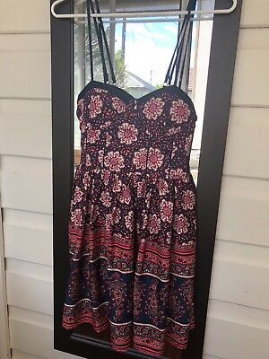 Band of Gypsies Cocktail Dress Size M RRP $49 Flattering