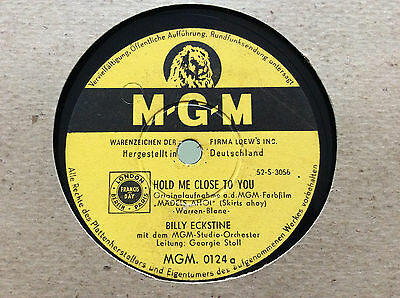 DEBBIE REYNOLDS /BILLY  ECKSTINE What Good is a Gal/ Hold Me Close to You