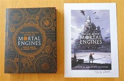 The illustrated World of Mortal Engines Philip Reeve Signed and Numbered Ltd Ed+