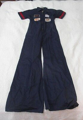 Vintage ESSO Gas Oil Service Station Coveralls/ Overalls Cotton Denim sz 42 NEW