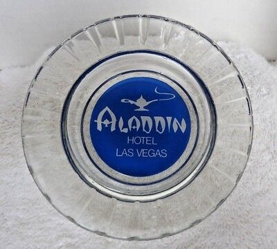 "Vintage 60's ""The Aladdin"" Hotel & Casino Ashtray Las Vegas Nevada Minty"