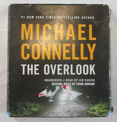 """""""The Overlook"""" by Michael Connelly Audio Book Unabridged on 5 CD's EXC"""