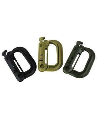 Kombat UK Rapid Lock Molle Webbing Clips