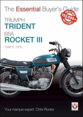 Triumph Trident & BSA Rocket III:   The Essential Buyer's Guide New Book