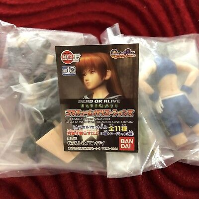 *dead Or Alive!* (2) Collectible Japanese Capsule Gashapon Toys! Ayane & Tina!