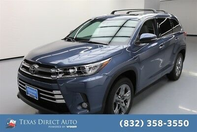 2018 Toyota Highlander Limited 4dr SUV Texas Direct Auto 2018 Limited 4dr SUV Used 3.5L V6 24V Automatic FWD SUV