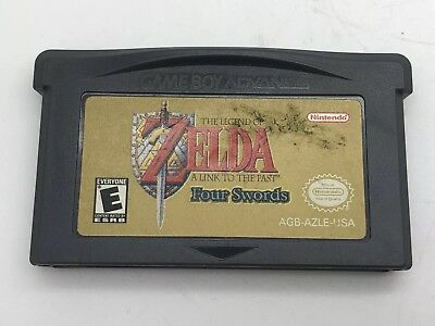 Legend of Zelda: A Link to the Past (Nintendo Game Boy Advance, 2002) Tested