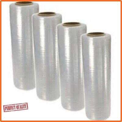 1x STRONG ROLL CLEAR PALLET STRETCH SHRINK WRAP CAST PACKING CLING FILM