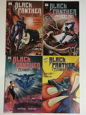 Black Panther Panther's Prey Complete Mini Series