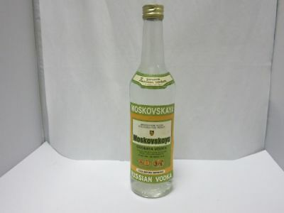 "1 Flasche ""Moskovskaya Vodka"" (40% vol., 0,5 l)  6M6123"