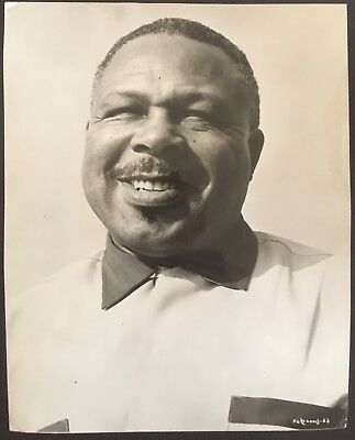 Superb Portrait Photo Of The Legendary Light Heavyweight Champ Archie Moore!!